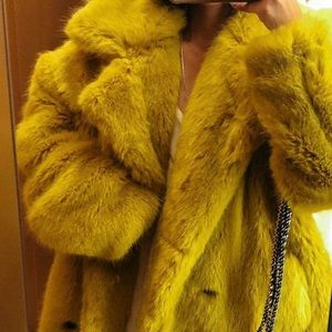 Korean brand yellow coat
